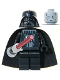 Minifig No: sw0117  Name: Darth Vader with Light-Up Lightsaber