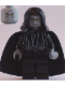 Minifig No: sw0124  Name: Emperor Palpatine - Light Bluish Gray Head, Light Bluish Gray Hands