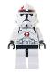 Minifig No: sw0130  Name: Clone Trooper Episode 3, Dark Red Markings