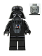 Minifig No: sw0138  Name: Darth Vader Episode 3 without Cape