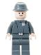 Minifig No: sw0154  Name: Imperial Officer (Captain / Commandant / Commander) - Cavalry Kepi, Standard Grin