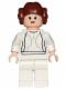 Minifig No: sw0175b  Name: Princess Leia (White Dress, Light Flesh, Big Eyes)