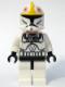 Minifig No: sw0191  Name: Clone Pilot (Clone Wars)