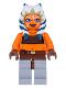 Minifig No: sw0192  Name: Ahsoka Tano (Padawan) - Tube Top and Belt