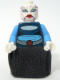 Minifig No: sw0195  Name: Asajj Ventress - Dark Blue Torso