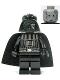 Minifig No: sw0232  Name: Darth Vader (Death Star torso - no Eyebrows)