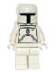 Minifig No: sw0275  Name: Boba Fett - White