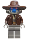 Minifig No: sw0285  Name: Cad Bane - Dark Bluish Gray Hands and Legs