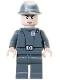 Minifig No: sw0293  Name: Imperial Officer (Captain / Commandant / Commander) - Cavalry Kepi, Smirk