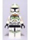 Minifig No: sw0298  Name: Clone Trooper Clone Wars with Sand Green Markings