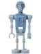 Minifig No: sw0345  Name: 2-1B Medical Droid (Dotted Badge Pattern, Light Bluish Gray Legs)