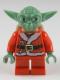 Minifig No: sw0358  Name: Santa Yoda with Backpack