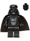 Minifig No: sw0386  Name: Darth Vader (Black Head)