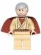 Minifig No: sw0388  Name: Obi-Wan Kenobi (Old) - Short Cape (Watch 9002939)