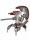 Minifig No: sw0447  Name: Droideka - Destroyer Droid (Sniper Droid)