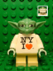 Minifig No: sw0465a  Name: Yoda, NY I Heart Torso, White Hair (TRU Times Square 2013 Exclusive)