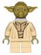 Minifig No: sw0471  Name: Yoda (Olive Green, Neck Bracket)