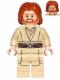 Minifig No: sw0489  Name: Obi-Wan Kenobi - Mid-Length Tousled with Center Part Hair