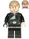 Minifig No: sw0509  Name: Luke Skywalker (Jedi Master, Endor, Dark Tan Hair, Smile / Open Mouth)