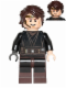 Minifig No: sw0526  Name: Anakin Skywalker (Dark Brown Legs, Headset)