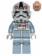 Minifig No: sw0581  Name: AT-AT Driver (Light Flesh Head)