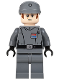 Minifig No: sw0582  Name: Imperial Officer (Captain / Commandant / Commander)