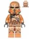 Minifig No: sw0605  Name: Geonosis Clone Trooper (Airborne Clone Trooper Helmet)