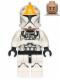 Minifig No: sw0609  Name: Clone Pilot, Printed Legs