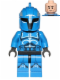 Minifig No: sw0613  Name: Senate Commando Captain - Printed Legs