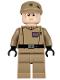 Minifig No: sw0623  Name: Imperial Officer (Captain / Commandant / Commander) - Dark Tan Uniform