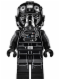 Minifig No: sw0632  Name: TIE Fighter Pilot (Printed Arms)