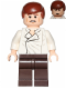 Minifig No: sw0714  Name: Han Solo, Dark Brown Legs