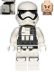 Minifig No: sw0722  Name: First Order Heavy Assault Stormtrooper (Rounded Mouth Pattern) - Backpack, Ammo Pouch Print