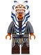 Minifig No: sw0759  Name: Ahsoka Tano (Adult) - Tunic with Armor and Belt