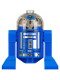 Minifig No: sw0773  Name: Imperial Astromech Droid (Blue)