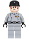 Minifig No: sw0775  Name: Imperial Officer - Light Bluish Gray Uniform