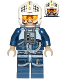 Minifig No: sw0793  Name: Rebel Pilot U-wing / Y-wing
