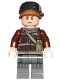 Minifig No: sw0805  Name: Rebel Trooper, Light Flesh Head, Helmet with Pearl Dark Gray Band (Private Calfor)