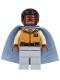 Minifig No: sw0818  Name: Lando Calrissian - General Insignia (Light Bluish Gray Legs)