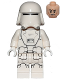 Minifig No: sw0875  Name: First Order Snowtrooper - without Backpack