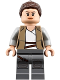 Minifig No: sw0888  Name: Rey - Dark Tan Jacket