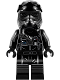 Minifig No: sw0902  Name: First Order TIE Pilot, Three White Lines on Helmet