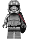 Minifig No: sw0904  Name: Captain Phasma (Pointed Mouth Pattern)