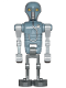 Minifig No: sw0956  Name: 2-1B Medical Droid (Dotted Badge Pattern, Dark Bluish Gray Legs)