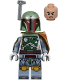 Minifig No: sw0977  Name: Boba Fett - Pauldron, Helmet, Jet Pack, Printed Arms and Legs, Clone Head