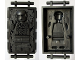 Minifig No: sw0978  Name: Han Solo in Carbonite (Block with Handles)