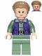 Minifig No: sw1011  Name: General Leia (Dark Tan Turtleneck, Detailed Vest)
