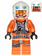 Minifig No: sw1025  Name: Dak Ralter (with Pockets and Three Bullets on Legs)