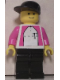 Minifig No: tel001s  Name: German Telekom Racing Cyclist - with Torso Stickers