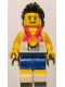 Minifig No: tgb003  Name: Relay Runner - Team GB Minifigure Entry